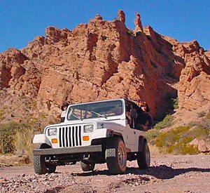 Jeep Off Roading near Emerald Cove Resort